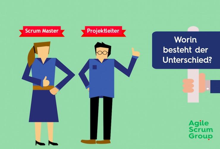 Scrum Master und Projektleiter